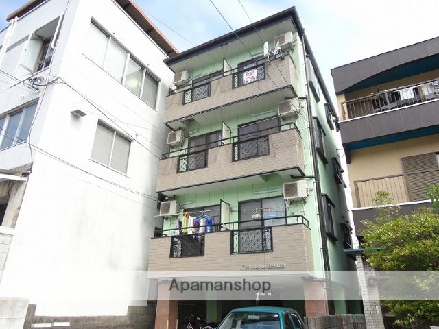 高知県高知市、県庁前駅徒歩13分の築19年 4階建の賃貸マンション