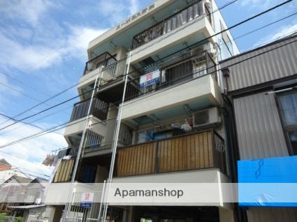 高知県高知市、知寄町二丁目駅徒歩10分の築31年 4階建の賃貸アパート