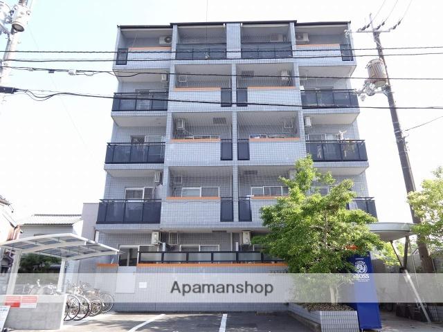 高知県高知市、上町二丁目駅徒歩7分の築27年 5階建の賃貸マンション