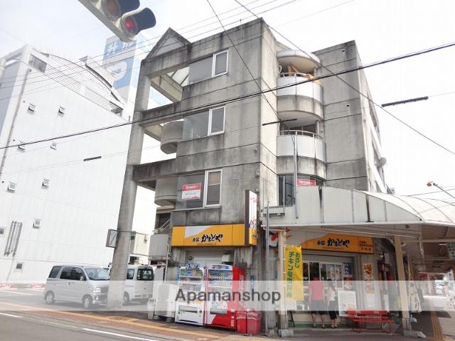 高知県高知市、グランド通駅徒歩4分の築27年 4階建の賃貸マンション