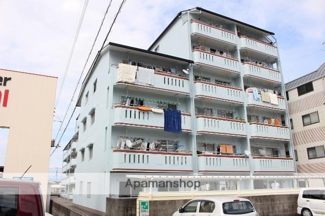 高知県高知市、東新木駅徒歩9分の築27年 6階建の賃貸マンション