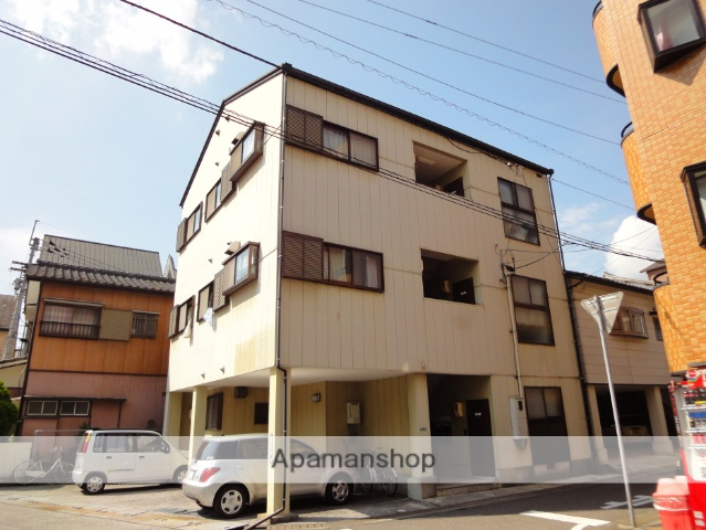 高知県高知市、桟橋通二丁目駅徒歩4分の築20年 3階建の賃貸マンション