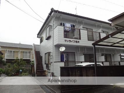 高知県高知市、旭駅徒歩16分の築26年 2階建の賃貸アパート