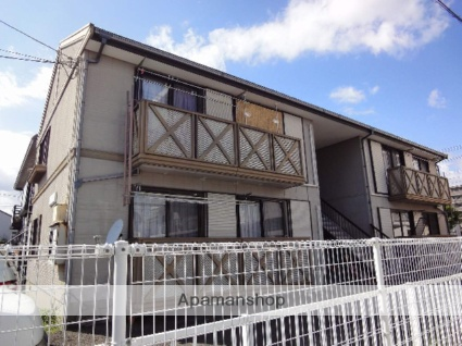 高知県高知市、桟橋通一丁目駅徒歩9分の築25年 2階建の賃貸アパート