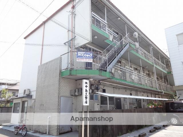 高知県高知市、知寄町駅徒歩9分の築43年 3階建の賃貸マンション