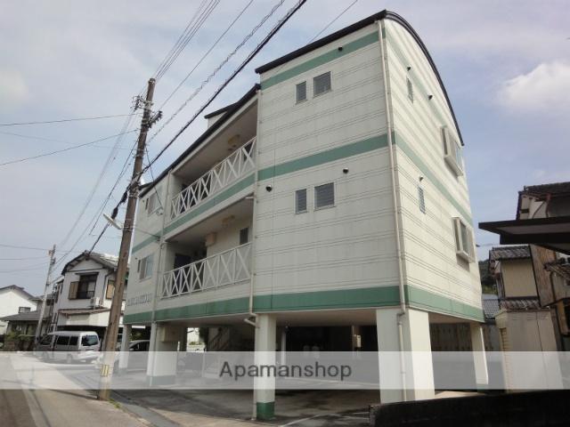高知県高知市、曙町東町駅徒歩20分の築24年 3階建の賃貸マンション