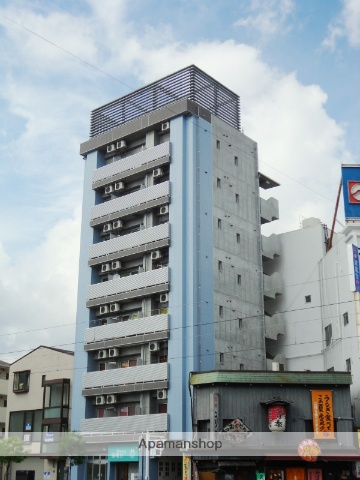 高知県高知市、デンテツターミナルビル前駅徒歩5分の築8年 8階建の賃貸マンション