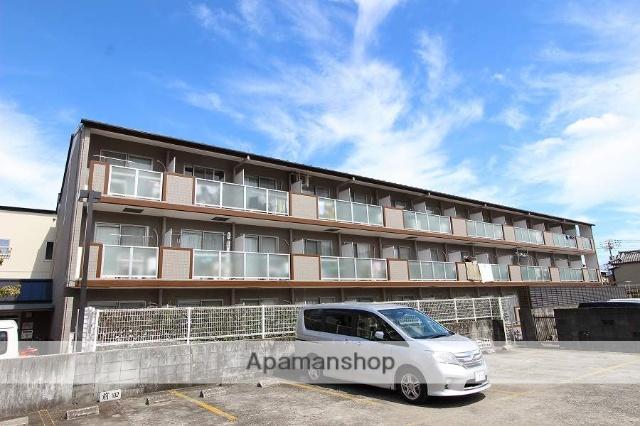 高知県高知市、旭駅徒歩5分の築22年 3階建の賃貸マンション