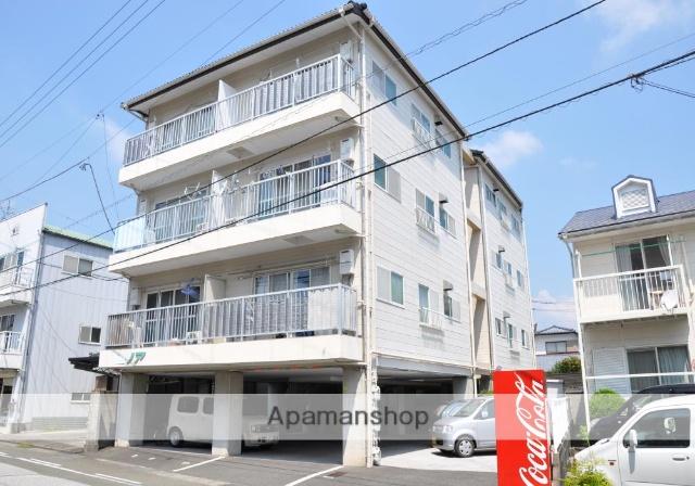 高知県高知市、旭駅徒歩5分の築27年 4階建の賃貸アパート