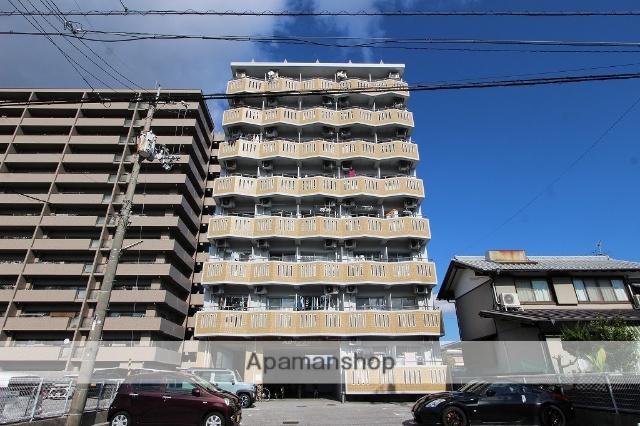 高知県高知市、桟橋通二丁目駅徒歩10分の築25年 8階建の賃貸マンション