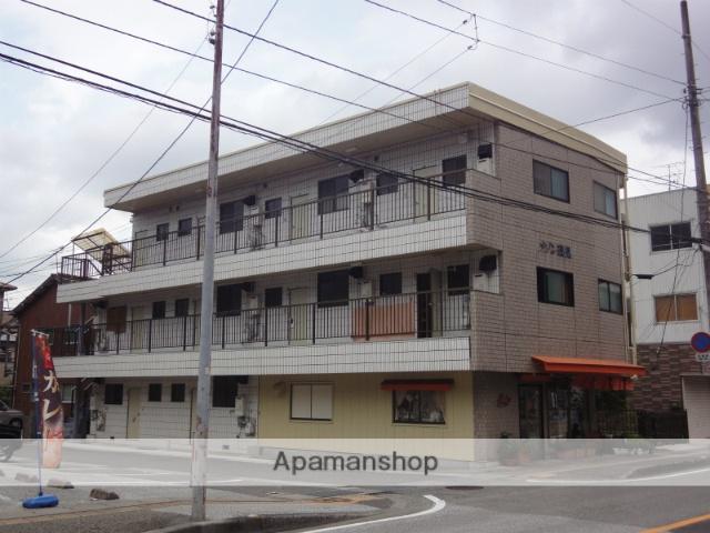 高知県高知市、梅の辻駅徒歩14分の築30年 3階建の賃貸マンション