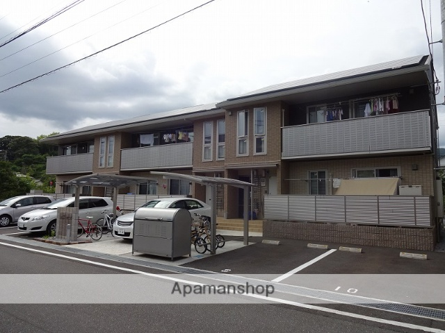 高知県高知市、入明駅徒歩14分の築3年 2階建の賃貸アパート