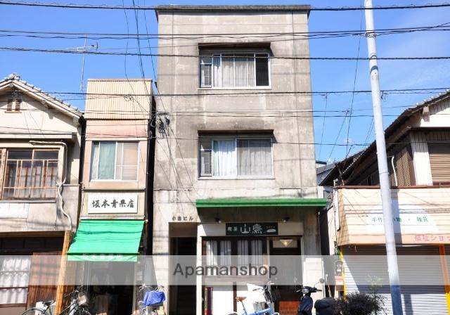 高知県高知市、グランド通駅徒歩5分の築36年 3階建の賃貸アパート
