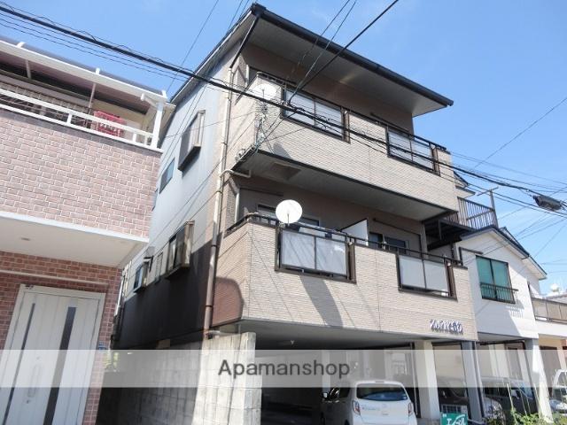 高知県高知市、知寄町一丁目駅徒歩9分の築14年 3階建の賃貸アパート