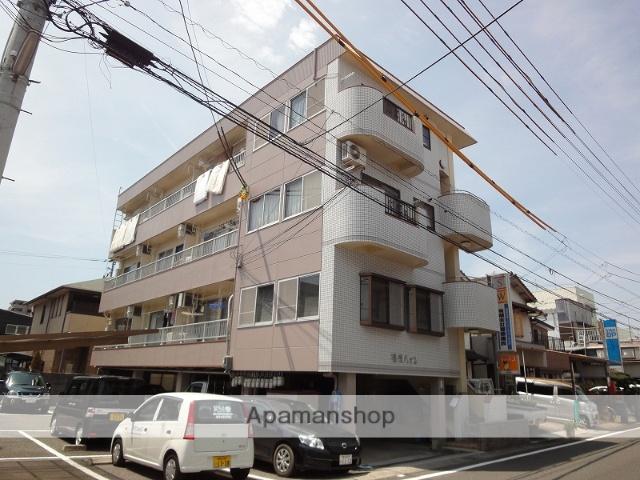 高知県高知市、知寄町三丁目駅徒歩18分の築29年 4階建の賃貸マンション