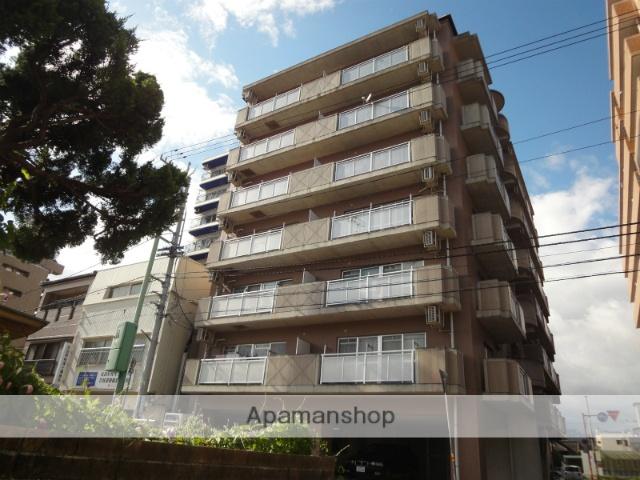 高知県高知市、知寄町一丁目駅徒歩5分の築18年 7階建の賃貸マンション