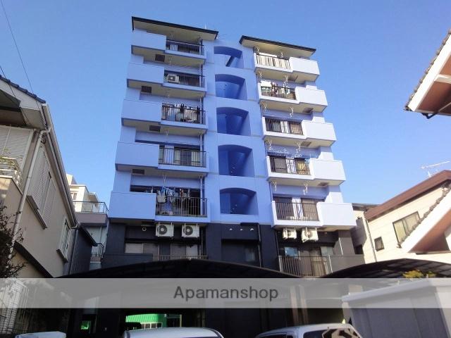 高知県高知市、高知駅徒歩6分の築28年 7階建の賃貸マンション