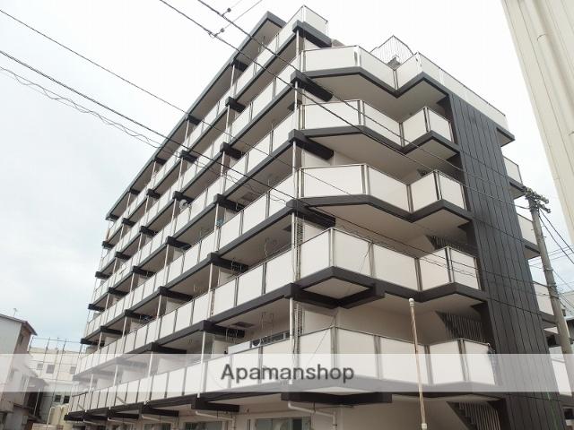 高知県高知市、桟橋通一丁目駅徒歩2分の築34年 7階建の賃貸マンション