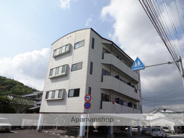 高知県高知市、梅の辻駅徒歩9分の築22年 4階建の賃貸マンション