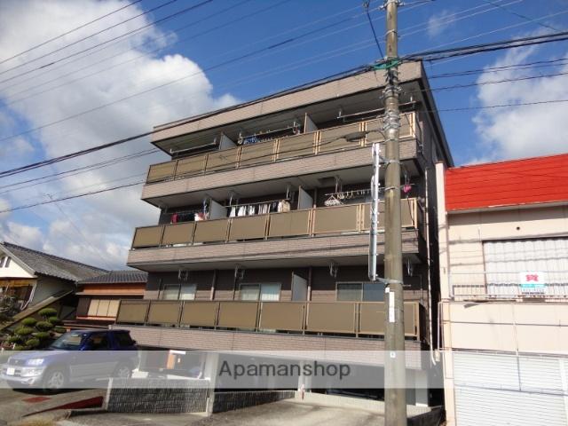 高知県高知市、薊野駅徒歩17分の築21年 3階建の賃貸アパート