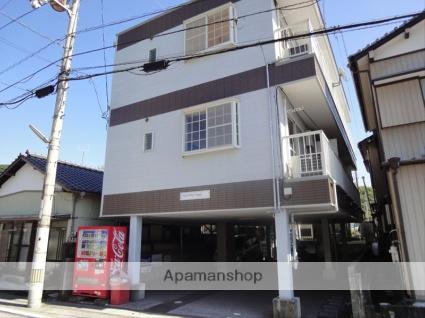 高知県高知市、上町四丁目駅徒歩9分の築21年 3階建の賃貸アパート