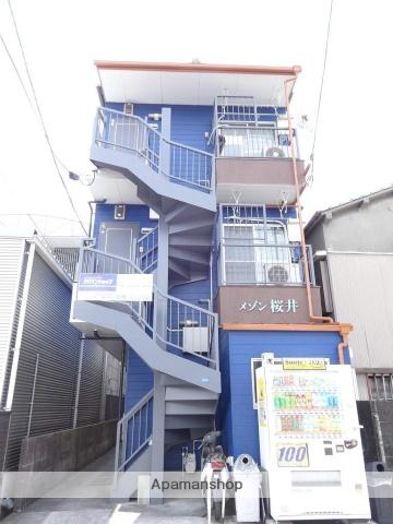 高知県高知市、宝永町駅徒歩6分の築27年 3階建の賃貸マンション