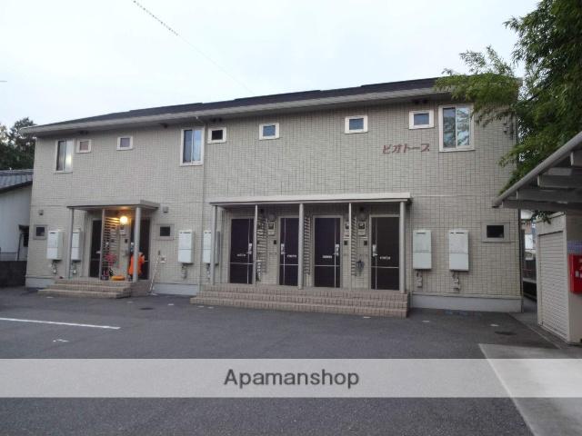 高知県南国市、後免中町駅徒歩9分の築6年 2階建の賃貸アパート