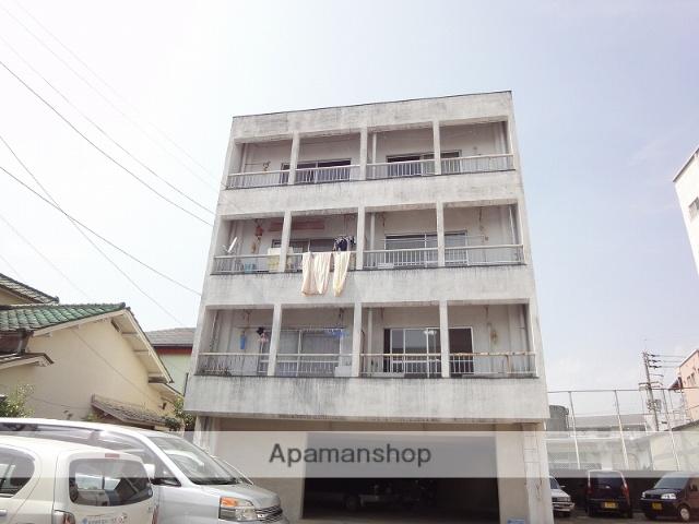 高知県高知市、堀詰駅徒歩10分の築40年 4階建の賃貸マンション