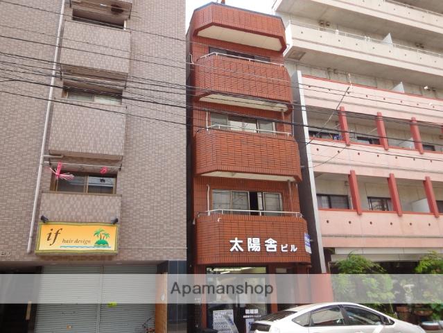 高知県高知市、デンテツターミナルビル前駅徒歩3分の築32年 4階建の賃貸マンション