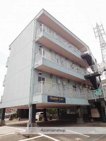 高知県高知市、鹿児駅徒歩12分の築23年 4階建の賃貸マンション