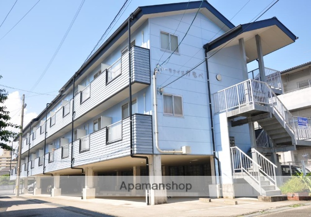 高知県高知市、旭町三丁目駅徒歩13分の築14年 3階建の賃貸アパート