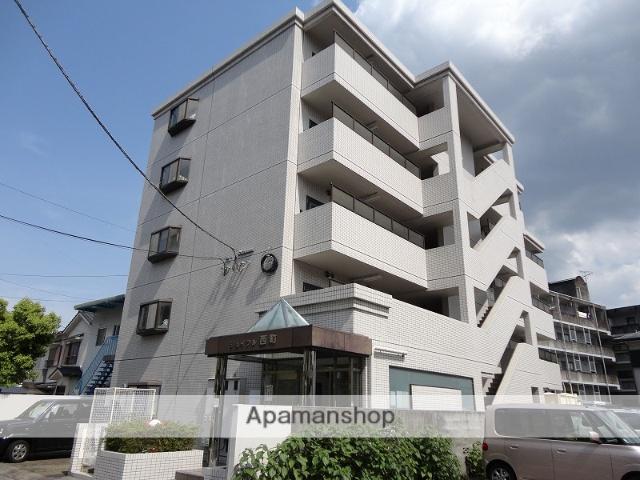 高知県高知市、上町二丁目駅徒歩8分の築25年 5階建の賃貸マンション