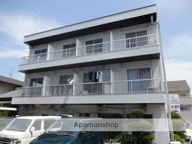 高知県高知市、文珠通駅徒歩2分の築28年 3階建の賃貸マンション
