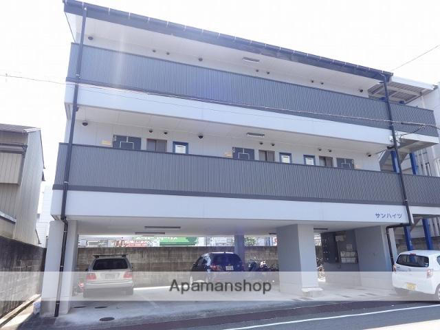高知県高知市、桟橋通二丁目駅徒歩4分の築25年 3階建の賃貸マンション