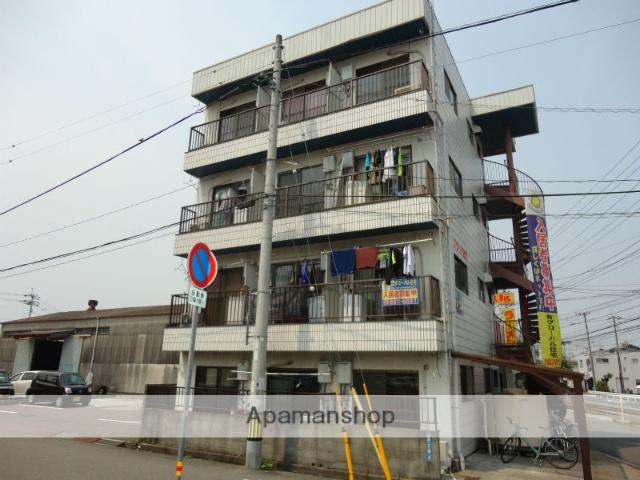 高知県高知市、県立美術館通駅徒歩6分の築30年 4階建の賃貸マンション