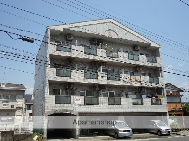 高知県高知市、新木駅徒歩4分の築25年 5階建の賃貸マンション