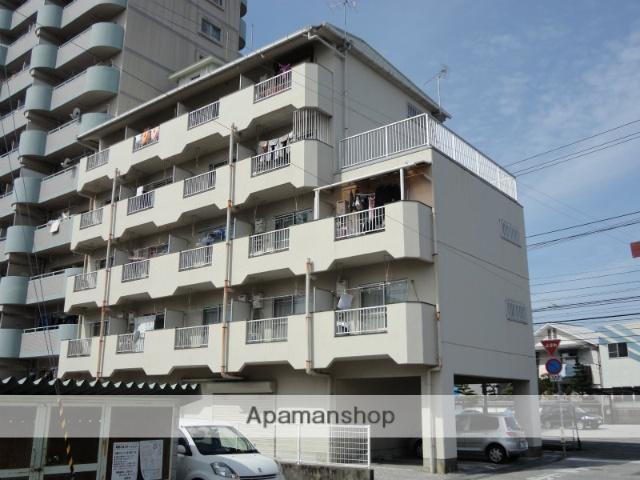 高知県高知市、東新木駅徒歩7分の築32年 5階建の賃貸マンション