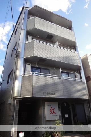 高知県高知市、グランド通駅徒歩5分の築20年 4階建の賃貸アパート