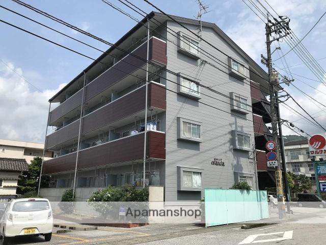 高知県高知市、土佐一宮駅徒歩12分の築25年 4階建の賃貸マンション