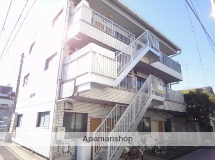 高知県高知市、知寄町駅徒歩8分の築31年 3階建の賃貸アパート