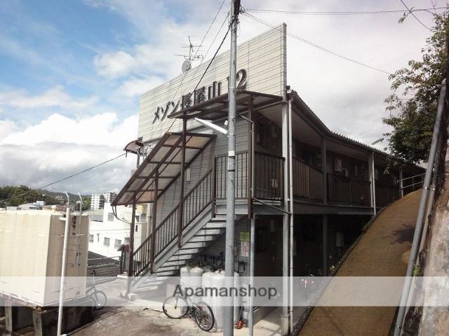 高知県高知市、高知商業前駅徒歩8分の築17年 2階建の賃貸アパート