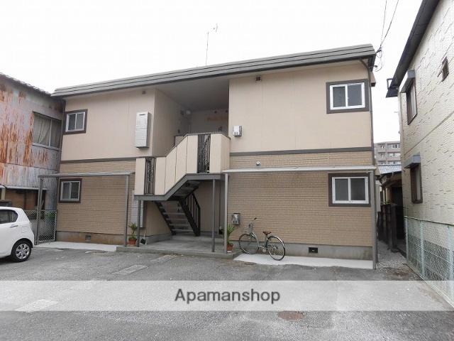 高知県高知市、円行寺口駅徒歩10分の築33年 2階建の賃貸アパート