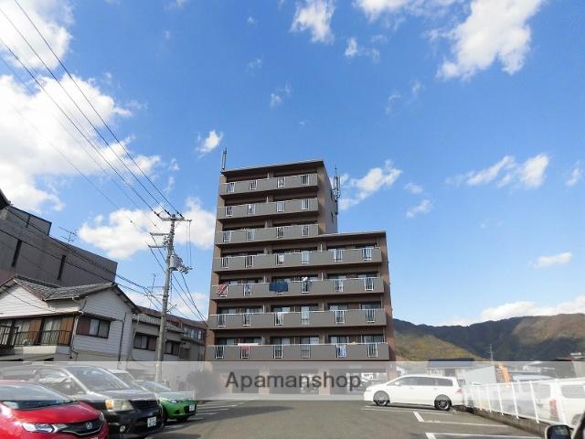 高知県高知市、土佐一宮駅徒歩6分の築17年 8階建の賃貸マンション