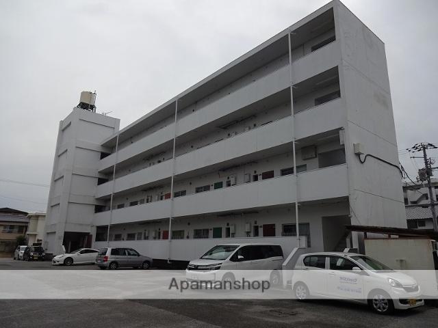 高知県高知市、文珠通駅徒歩9分の築36年 5階建の賃貸マンション