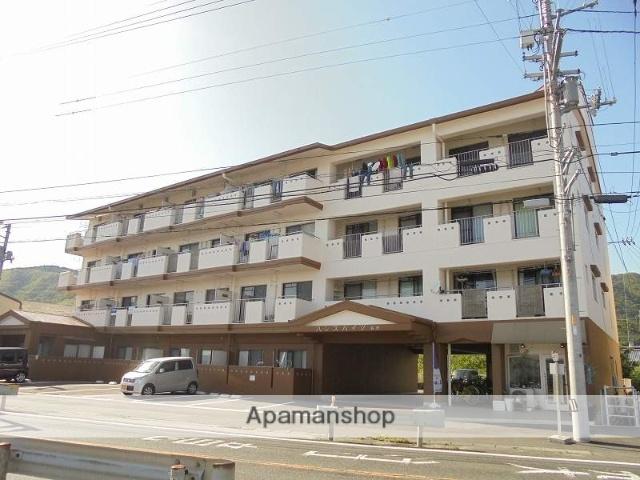 高知県高知市、土佐一宮駅徒歩15分の築30年 4階建の賃貸マンション