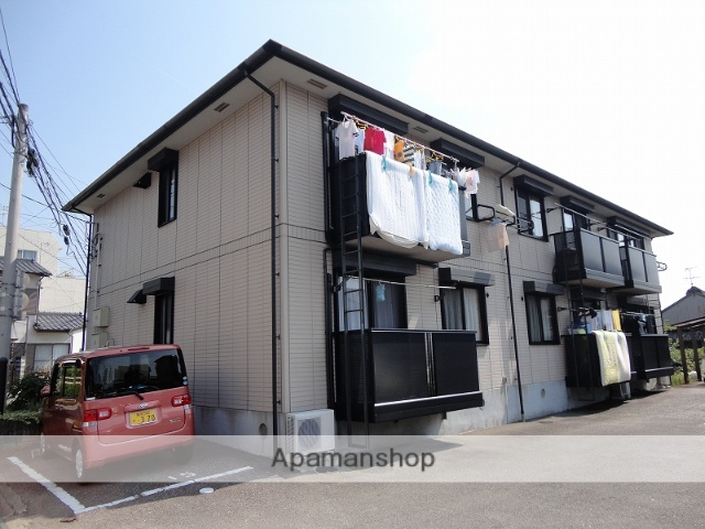 高知県高知市、薊野駅徒歩4分の築17年 2階建の賃貸アパート