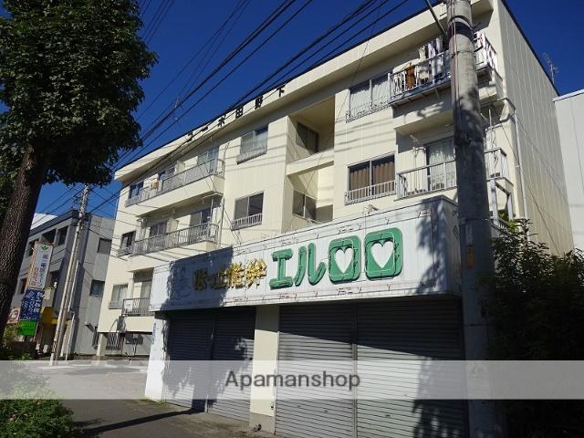 高知県高知市、旭駅前通駅徒歩18分の築33年 4階建の賃貸アパート