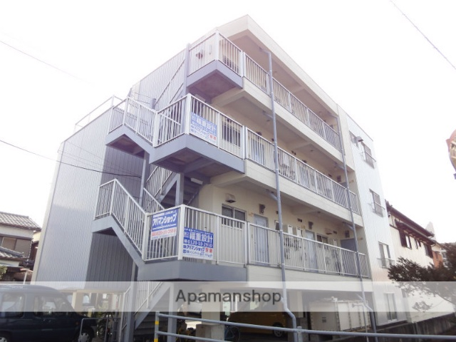 高知県高知市、田辺島通駅徒歩11分の築30年 4階建の賃貸マンション