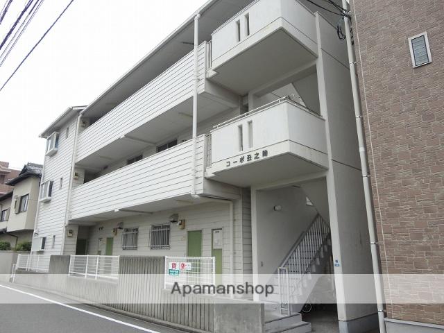 高知県高知市、知寄町一丁目駅徒歩13分の築22年 3階建の賃貸アパート