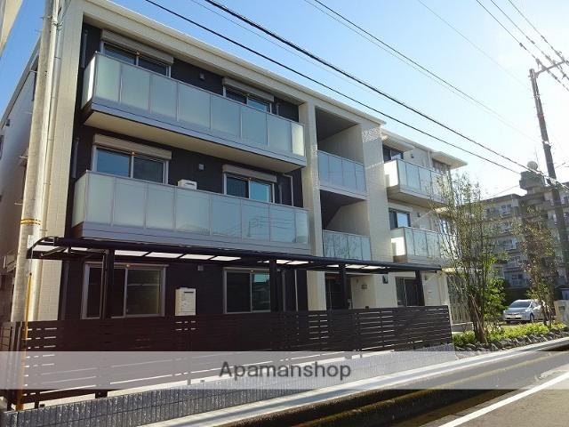 高知県高知市、鴨部駅徒歩15分の築1年 3階建の賃貸マンション